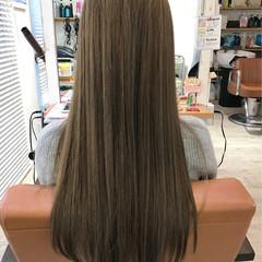 ガーリー ハイライト ロング 外国人風 ヘアスタイルや髪型の写真・画像