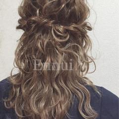 セミロング ショート 簡単ヘアアレンジ 結婚式 ヘアスタイルや髪型の写真・画像