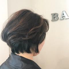 ショート 抜け感 モード ショートボブ ヘアスタイルや髪型の写真・画像
