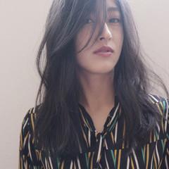 外国人風 ラベンダーグレージュ 外国人風カラー セミロング ヘアスタイルや髪型の写真・画像