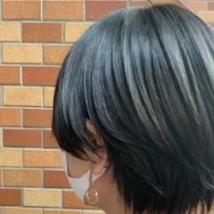 ダークアッシュ ハンサムショート ナチュラル ダークトーン ヘアスタイルや髪型の写真・画像