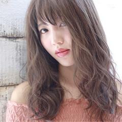 ガーリー 秋 ヘアアレンジ 暗髪 ヘアスタイルや髪型の写真・画像