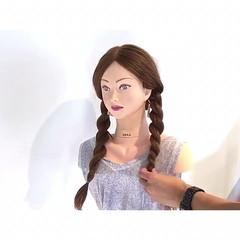色気 ロング ナチュラル 簡単ヘアアレンジ ヘアスタイルや髪型の写真・画像