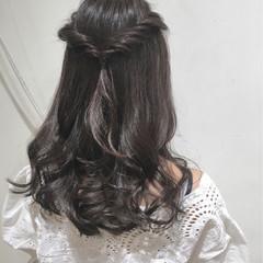 ショート 巻き髪 簡単ヘアアレンジ ロング ヘアスタイルや髪型の写真・画像