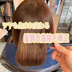 髪質改善 ナチュラル 髪質改善トリートメント ボブ ヘアスタイルや髪型の写真・画像