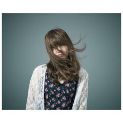 ハイライト 外国人風 ハイトーン ロング ヘアスタイルや髪型の写真・画像