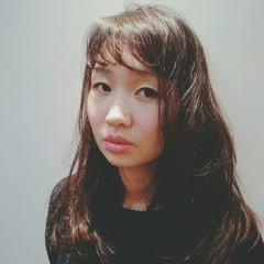 ウェーブ ロング パーマ 外国人風 ヘアスタイルや髪型の写真・画像