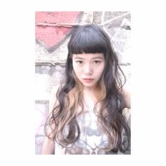 ガーリー ストレート 秋 ストリート ヘアスタイルや髪型の写真・画像