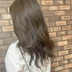 透明感 艶髪 イルミナカラー スロウ ヘアスタイルや髪型の写真・画像