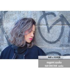 外国人風 グラデーションカラー ストリート 暗髪 ヘアスタイルや髪型の写真・画像