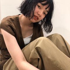 毛先パーマ ゆるふわパーマ パーマ ナチュラル ヘアスタイルや髪型の写真・画像