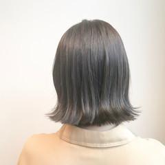 ブリーチ無し ブリーチなし ボブ 透明感カラー ヘアスタイルや髪型の写真・画像