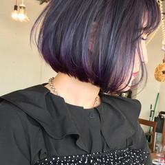 外国人風 ラベンダー ストリート 外国人風カラー ヘアスタイルや髪型の写真・画像