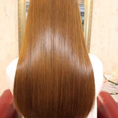 オレンジ コンサバ 大人かわいい ロング ヘアスタイルや髪型の写真・画像
