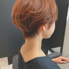 ベリーショート ナチュラル ショートヘア ショートマッシュ ヘアスタイルや髪型の写真・画像