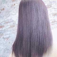 セミロング イルミナカラー モード グラデーションカラー ヘアスタイルや髪型の写真・画像