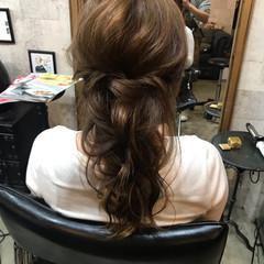 ヘアアレンジ エレガント ロング 結婚式 ヘアスタイルや髪型の写真・画像