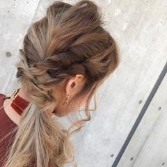 大人女子 ルーズ ヘアアレンジ ミディアム ヘアスタイルや髪型の写真・画像