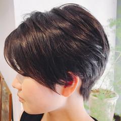 小顔 かっこいい ショート 比留川游 ヘアスタイルや髪型の写真・画像