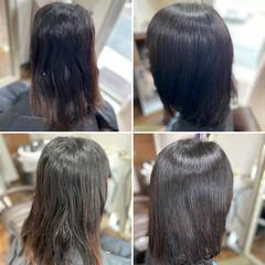 髪質改善トリートメント デジタルパーマ モード 髪質改善カラー ヘアスタイルや髪型の写真・画像
