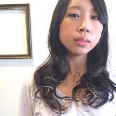 大人かわいい グラデーションカラー ゆるふわ 丸顔 ヘアスタイルや髪型の写真・画像