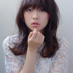フェミニン 大人かわいい ナチュラル ゆるふわ ヘアスタイルや髪型の写真・画像