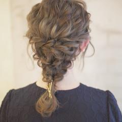 簡単ヘアアレンジ ヘアアレンジ 結婚式 アッシュ ヘアスタイルや髪型の写真・画像
