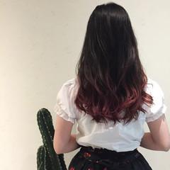 涼しげ ナチュラル ロング 色気 ヘアスタイルや髪型の写真・画像