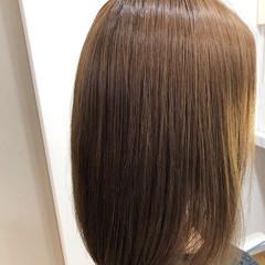 ストレート 縮毛矯正ストカール ナチュラル 縮毛矯正 ヘアスタイルや髪型の写真・画像
