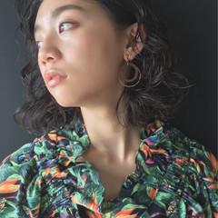 ガーリー 大人かわいい ミディアム ヘアアレンジ ヘアスタイルや髪型の写真・画像