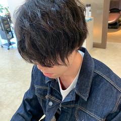 ショートボブ ウルフカット ミニボブ ナチュラル ヘアスタイルや髪型の写真・画像