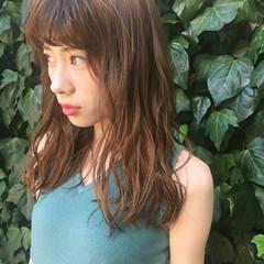 前髪あり くせ毛風 アッシュ ストリート ヘアスタイルや髪型の写真・画像
