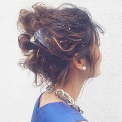 パーティ 外国人風 アッシュ ボブ ヘアスタイルや髪型の写真・画像