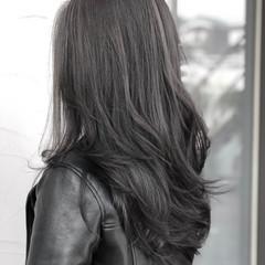 アッシュ デート エレガント グレージュ ヘアスタイルや髪型の写真・画像