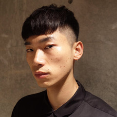 刈り上げ メンズショート メンズ ショート ヘアスタイルや髪型の写真・画像