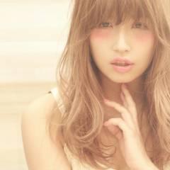 ゆるふわ ロング モテ髪 春 ヘアスタイルや髪型の写真・画像