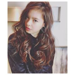 ピュア グラデーションカラー 前髪あり 外国人風カラー ヘアスタイルや髪型の写真・画像