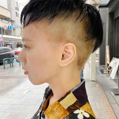 ナチュラル 刈り上げ女子 ショート ベリーショート ヘアスタイルや髪型の写真・画像