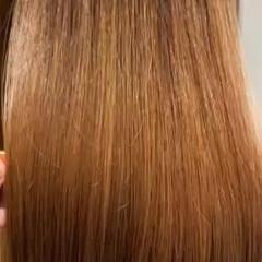 髪質改善 ブリーチ無し 艶髪 クセ ヘアスタイルや髪型の写真・画像