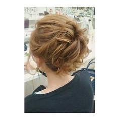 フェミニン 簡単ヘアアレンジ 大人かわいい ショート ヘアスタイルや髪型の写真・画像
