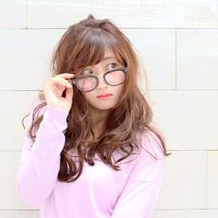 大人かわいい グラデーションカラー アッシュ ロング ヘアスタイルや髪型の写真・画像