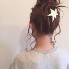 ヘアアレンジ ルーズ 簡単 ロング ヘアスタイルや髪型の写真・画像