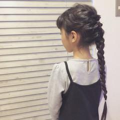 ナチュラル 黒髪 ロング ヘアアレンジ ヘアスタイルや髪型の写真・画像