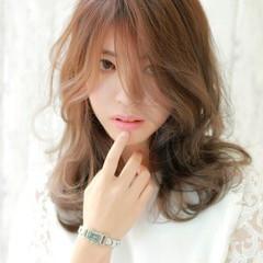 ゆるふわ コンサバ 大人女子 簡単ヘアアレンジ ヘアスタイルや髪型の写真・画像