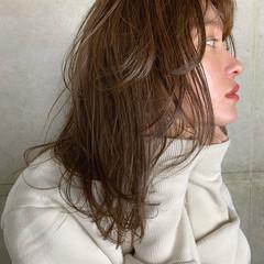 セミロング ナチュラル ヘアアレンジ 簡単ヘアアレンジ ヘアスタイルや髪型の写真・画像
