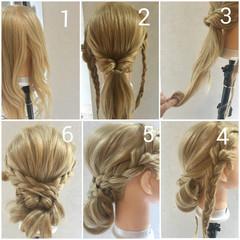 ショート 外国人風 簡単ヘアアレンジ ヘアアレンジ ヘアスタイルや髪型の写真・画像