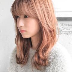 ショートボブ ミディアムヘアー ミニボブ シースルーバング ヘアスタイルや髪型の写真・画像