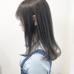 ミルクティーベージュ ミルクティーグレージュ ヘアアレンジ ロング ヘアスタイルや髪型の写真・画像
