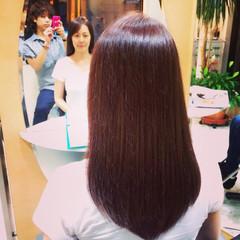 ロング コンサバ 上品 艶髪 ヘアスタイルや髪型の写真・画像