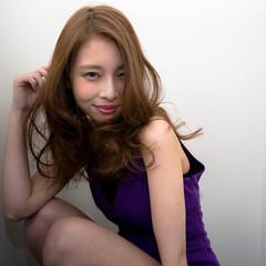 かっこいい 大人女子 渋谷系 ロング ヘアスタイルや髪型の写真・画像